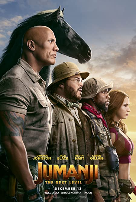 [PG-13] Jumanji: The Next Level (2019) Dual Audio HD-Rip - 480P | 720P - x264 - 400MB | 900MB - Download & Watch Online  Movie Poster - mlsbd