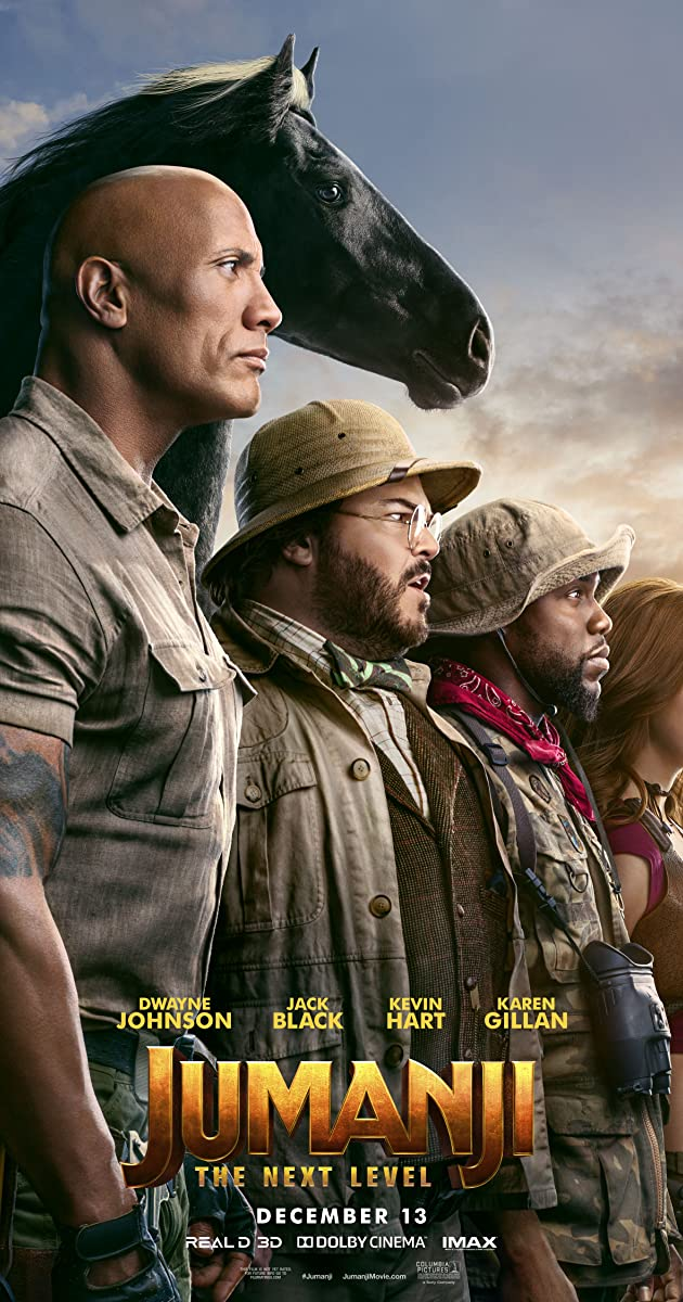 Watch Full HD Movie Jumanji: The Next Level (2019)