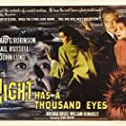 Edward G. Robinson, John Lund, and Gail Russell in Night Has a Thousand Eyes (1948)