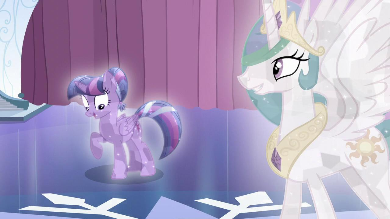 Tara Strong and Nicole Oliver in My Little Pony: Friendship Is Magic (2010)