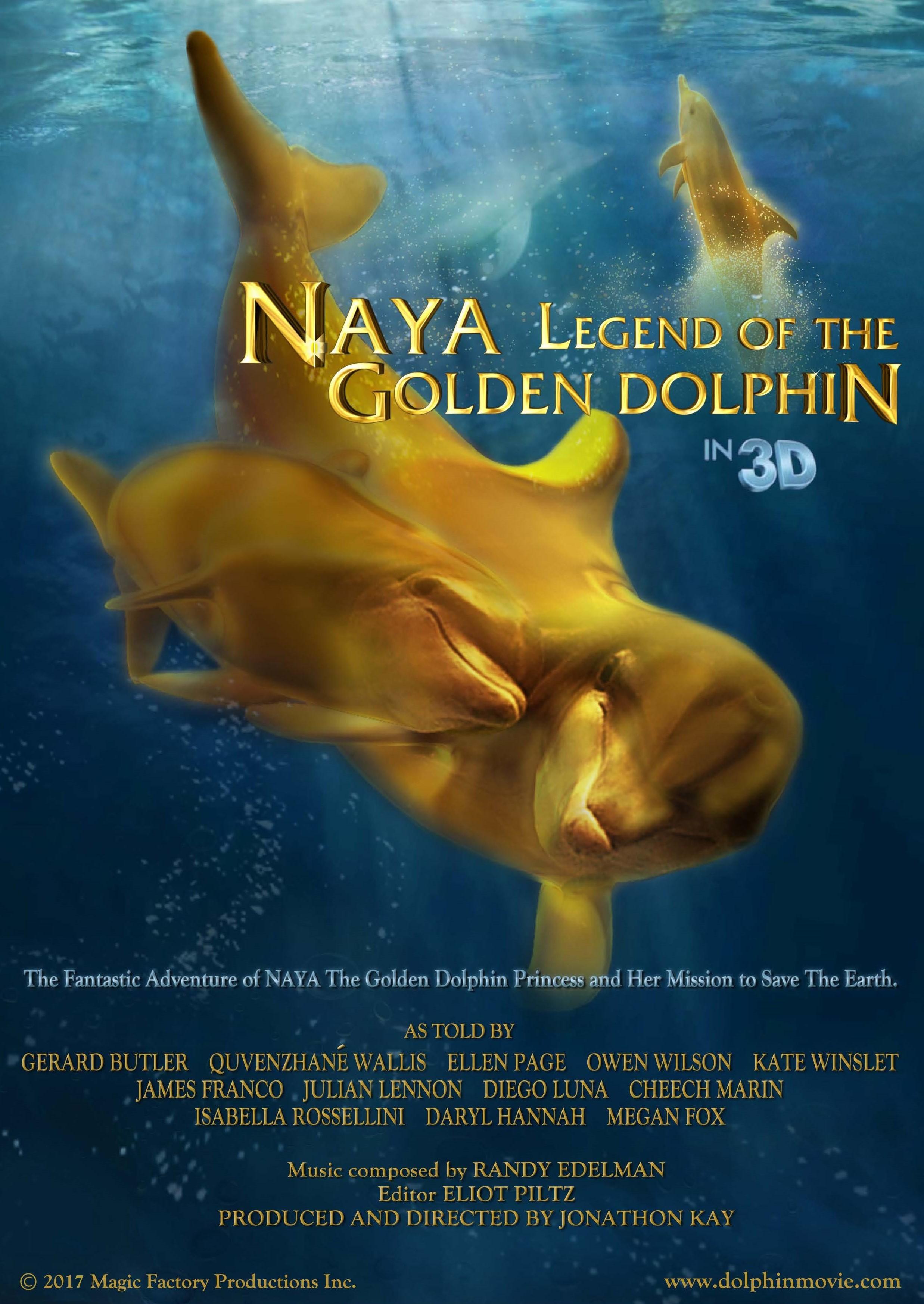 Download pelo celular Naya a lenda do golfinho dourado Qualidade boa