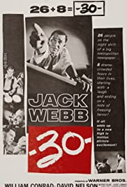 -30- (1959) starring Jack Webb on DVD on DVD