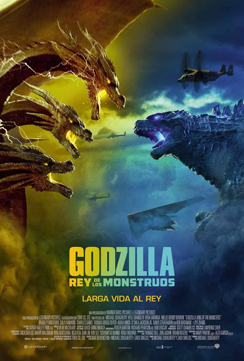 Godzilla King of the Monsters 2019 Dual Audio 720p WEBRip [Hindi + English] Free Download