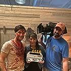 The Retaliators, Michael Lombardi, Director Bridget Smith and DP Joe Hennigan