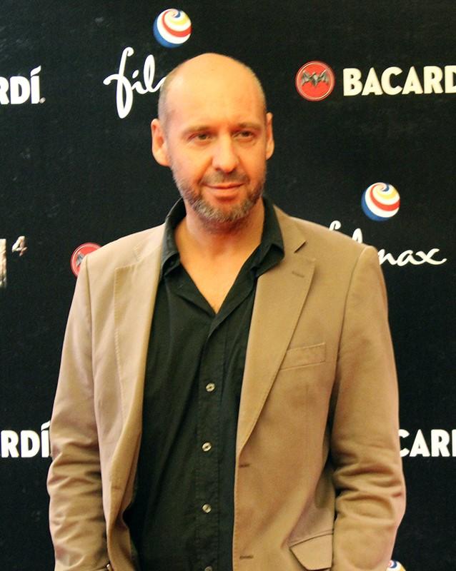 Jaume Balagueró at an event for [REC] 4: Apocalipsis (2014)