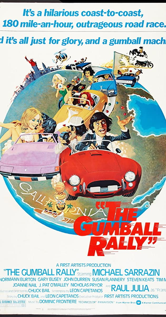 Subtitle of The Gumball Rally