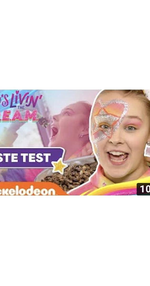 Jojo S Livin The D R E A M Jojo Siwa S Tour Taste Test W Cricket Bites More Tv Episode 2019 Imdb