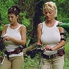 Shae Marks and Julie K. Smith in L.E.T.H.A.L. Ladies: Return to Savage Beach (1998)
