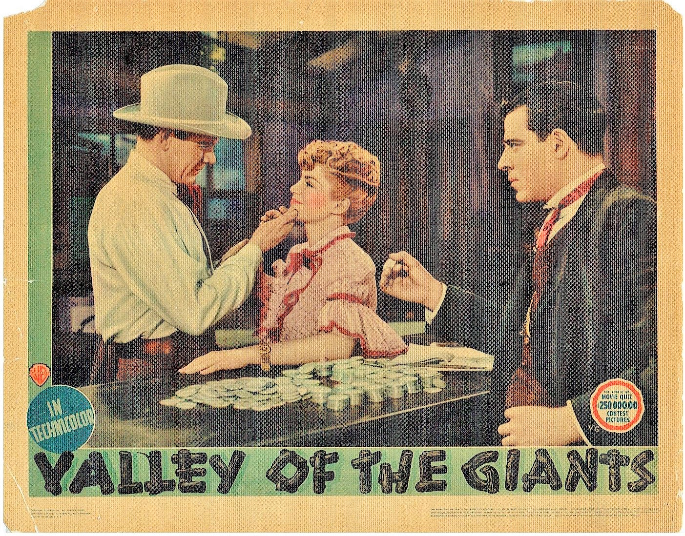 Charles Bickford, Wayne Morris, and Claire Trevor in Valley of the Giants (1938)