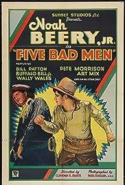 Five Bad Men Poster