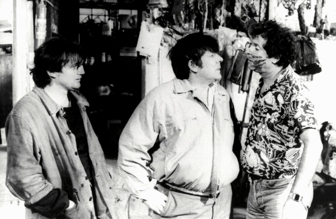 Christian Bouillette, Yves Pignot, and Gérard Sergue in Hôtel de police (1985)
