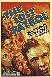 The Lost Patrol (1934) Poster - Movie Forum, Cast, Reviews
