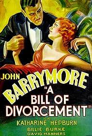 A Bill of Divorcement (1932) Poster - Movie Forum, Cast, Reviews