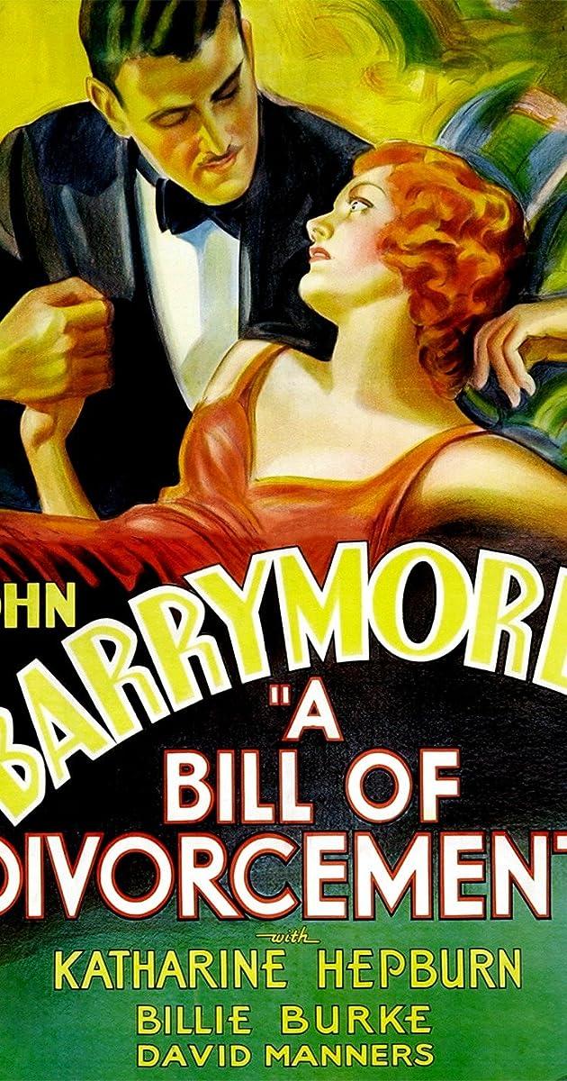 Subtitle of A Bill of Divorcement