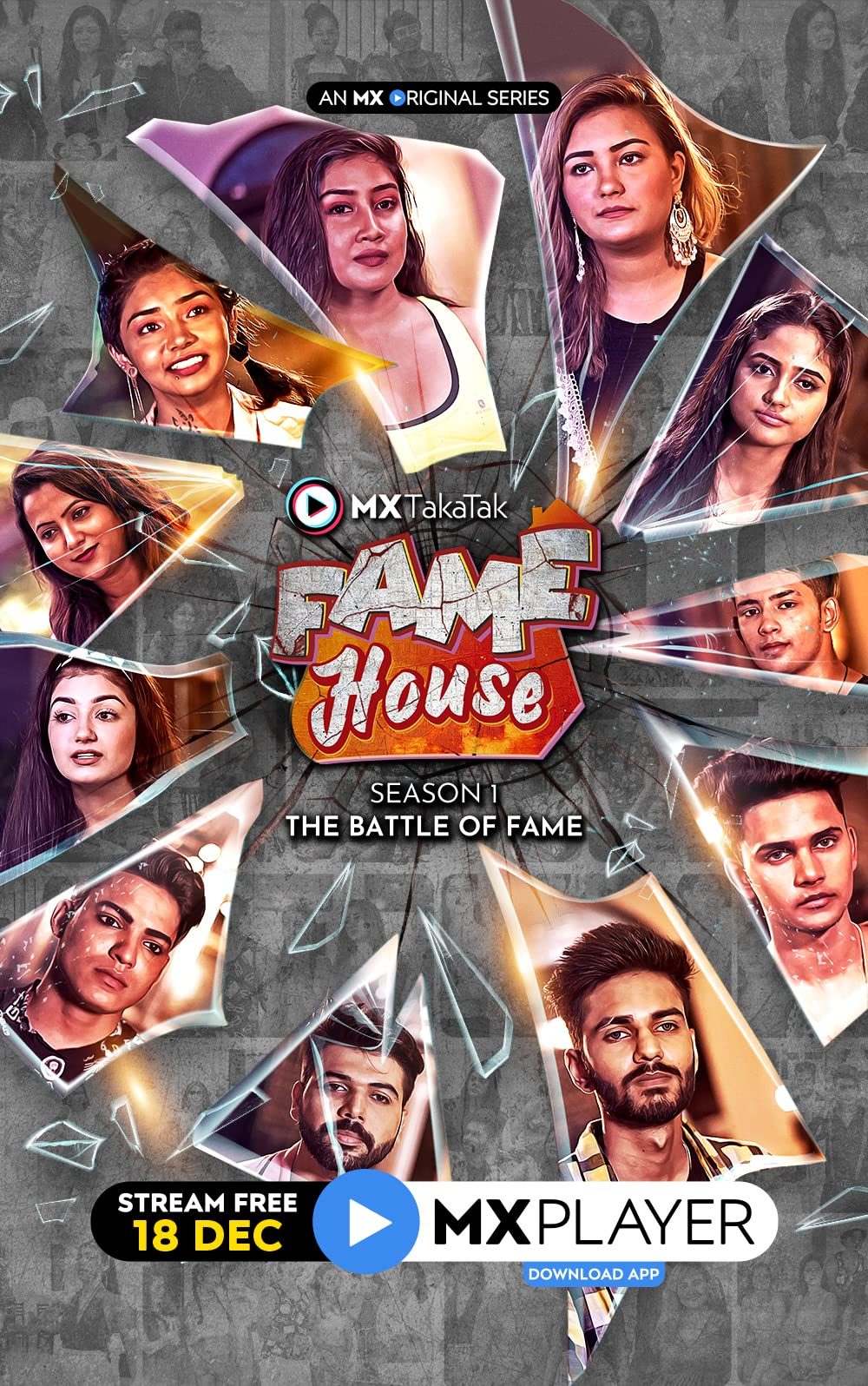 MX TakaTak Fame House (2020) Hindi Season 1 Complete 720p | 480p WEB-DL x265 AAC 700MB | 300MB