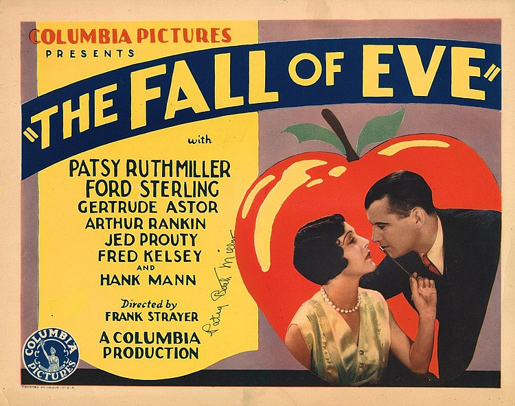 Patsy Ruth Miller and Arthur Rankin in The Fall of Eve (1929)