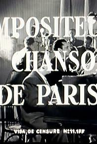 Primary photo for Compositeurs et chansons de Paris