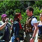 Corey Feldman, Tanit Phoenix, Steven van Niekerk, and Joe Vaz in Lost Boys: The Thirst (2010)