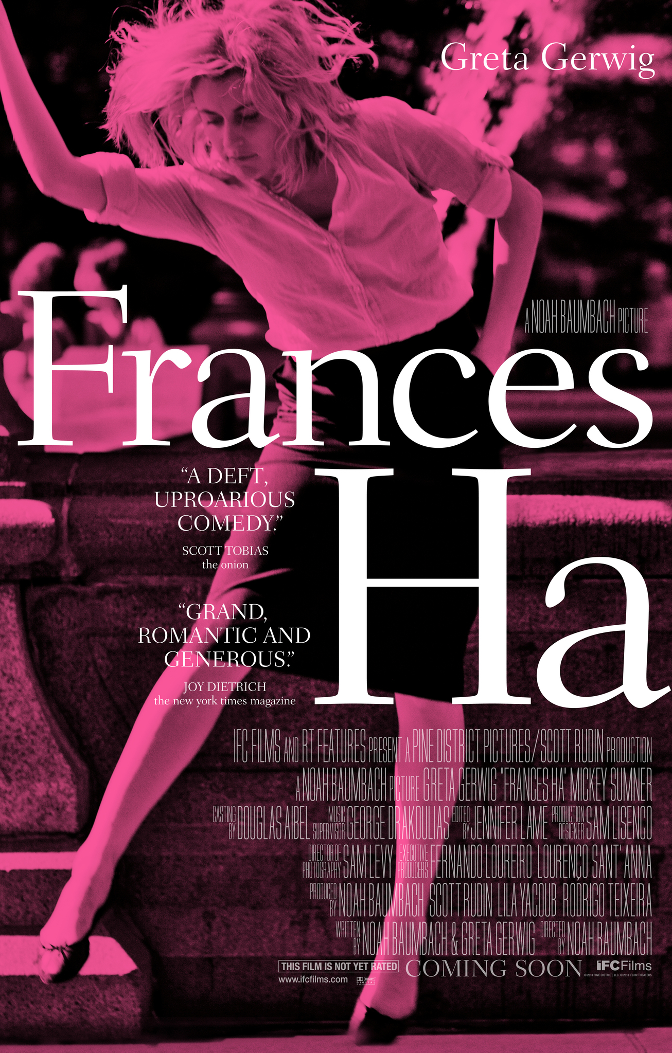 Image result for Frances Ha (2012)