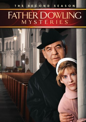 Tom Bosley and Tracy Nelson in Father Dowling Mysteries (1989)