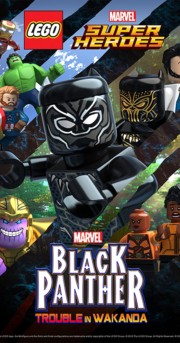 Lego Marvel Super Heroes Black Panther Trouble In Wakanda Tv Short 2018 Imdb