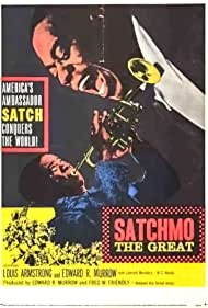 Louis Armstrong and Edward R. Murrow in Satchmo the Great (1957)