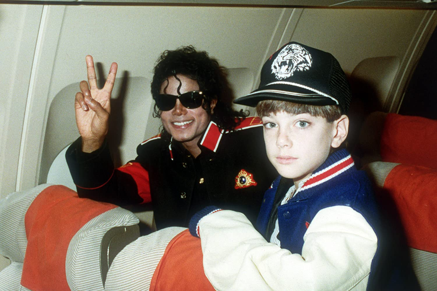 Michael Jackson and Jimmy Safechuck in Leaving Neverland (2019)