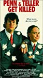 Penn & Teller Get Killed (1989) Poster