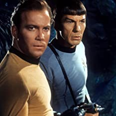 Leonard Nimoy and William Shatner in Star Trek (1966)