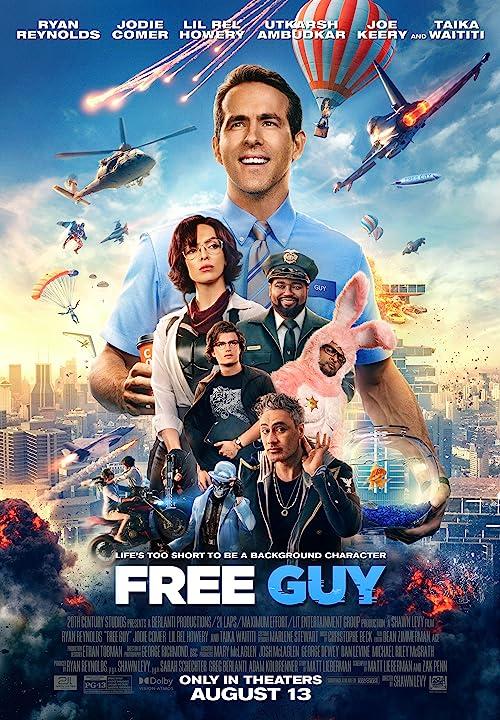 Free Guy (2021) Hindi Dubbed