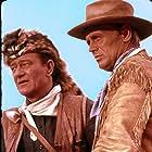 John Wayne and Richard Widmark in The Alamo (1960)