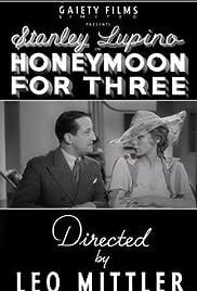 Honeymoon for Three Poster