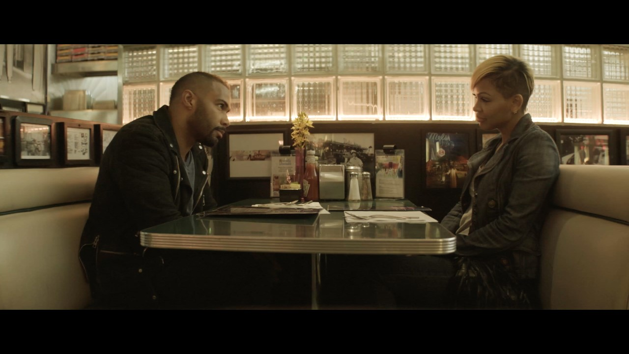 Meagan Good and Omari Hardwick in A Boy. A Girl. A Dream. (2018)