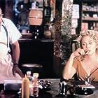James Earl Jones and Faye Dunaway in Scorchers (1991)