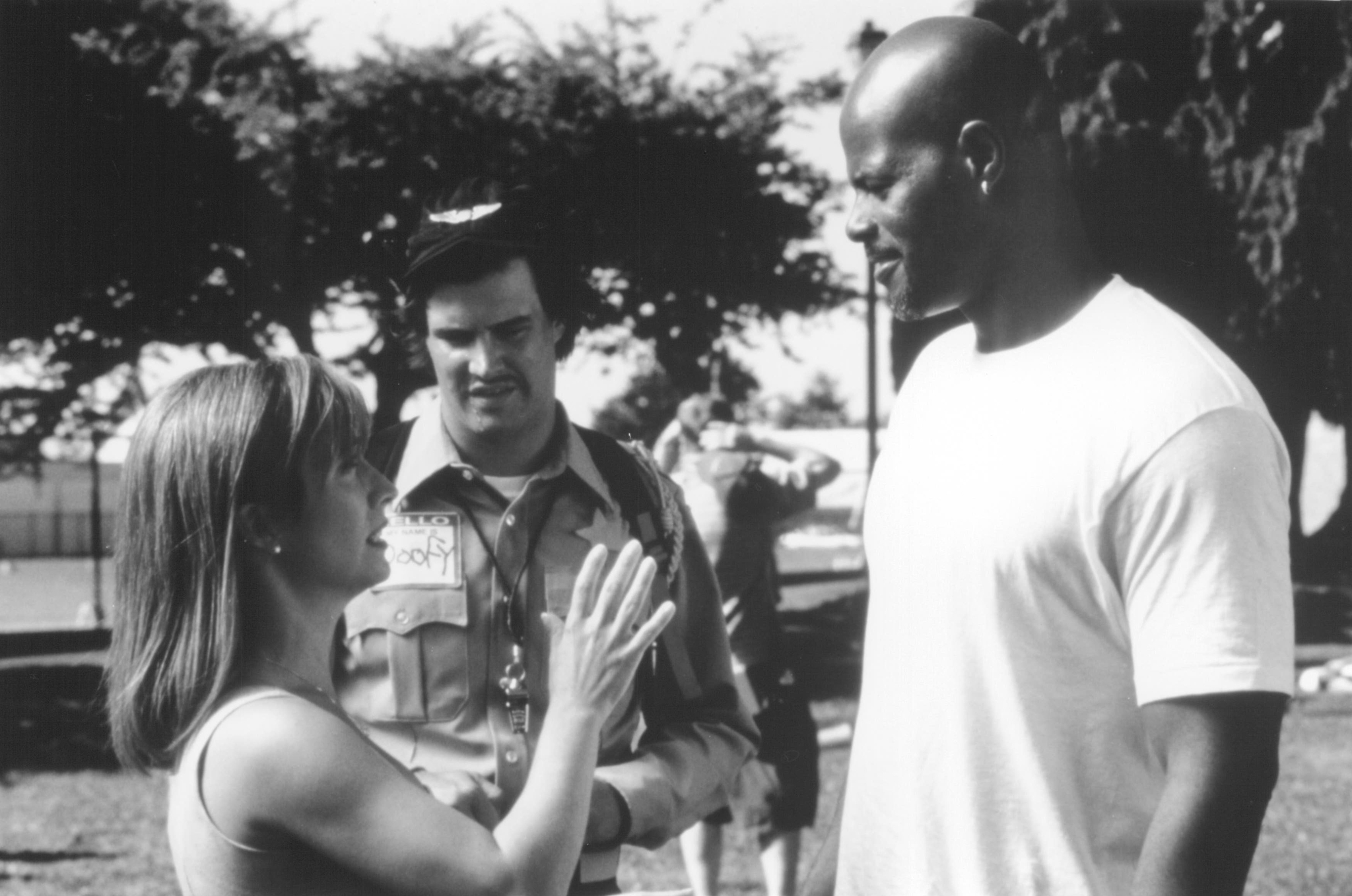 Keenen Ivory Wayans, Cheri Oteri, and Dave Sheridan in Scary Movie (2000)