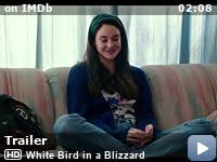 white bird in a blizzard download