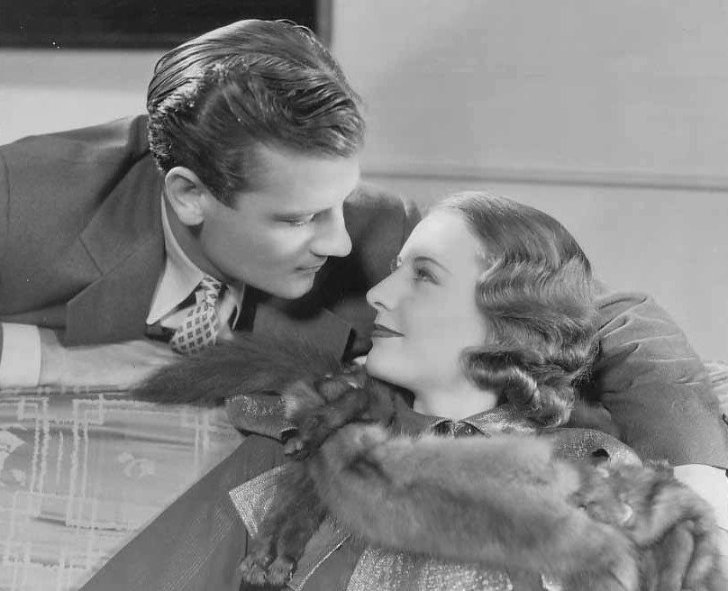 Barbara Stanwyck and Joel McCrea in Gambling Lady (1934)