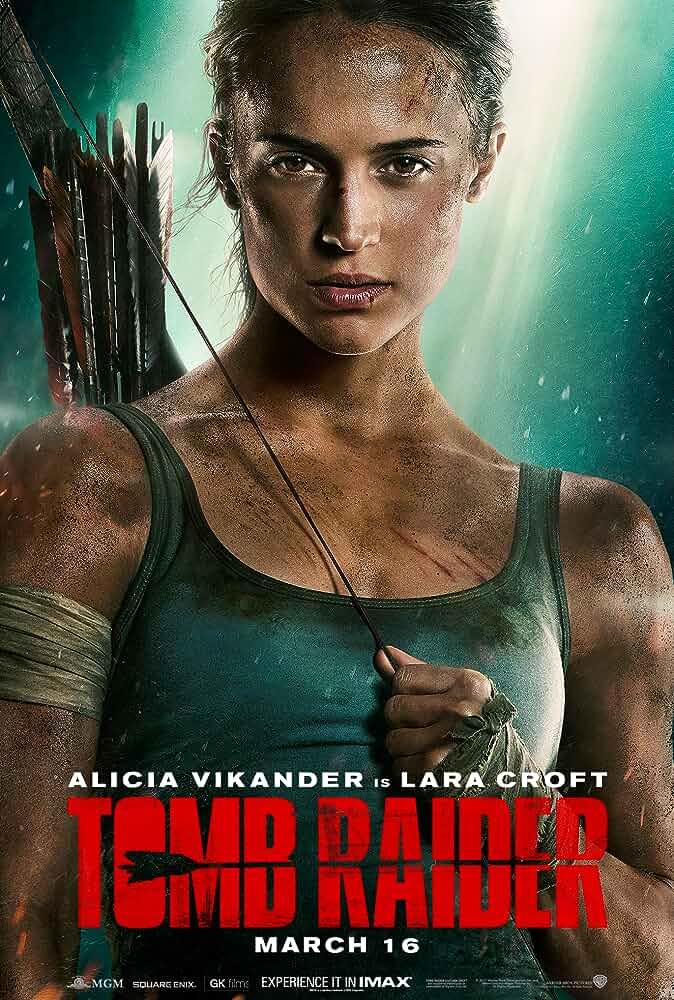 Tomb Raider | 2018 | Hindi + English | 1080p | 720p | WEB-DL