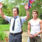 Matthew McConaughey and Zac Efron in The Paperboy (2012)