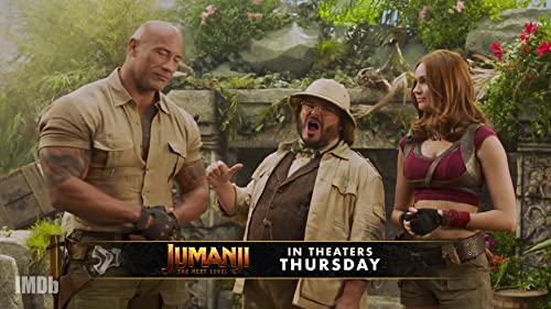 Jumanji: The Next Level' Cast Teases Live Show Premiere TONIGHT!