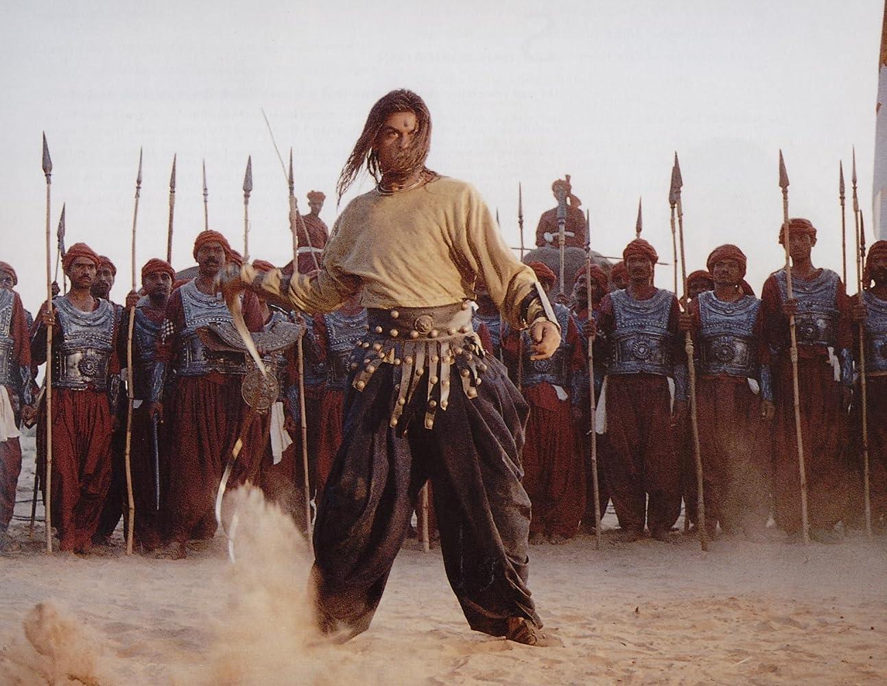 Shah Rukh Khan in Asoka (2001)