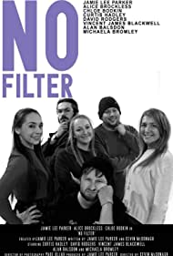 Curtis Hadley, Jamie-Lee Parker, David Rodgers, Vincent J. Blackwell, Chloe Bodkin, and Alice Brockless in No Filter (2018)