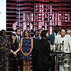 Naomie Harris, Mahershala Ali, Jeremy Kleiner, Barry Jenkins, and Janelle Monáe at an event for 32nd Film Independent Spirit Awards (2017)