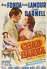 Chad Hanna (1940) Poster - Movie Forum, Cast, Reviews