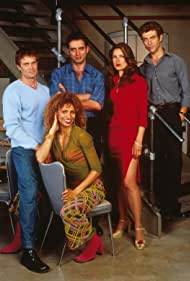 Bruno Campos, Garret Dillahunt, Nina Garbiras, and Michelle Hurd in Leap Years (2001)