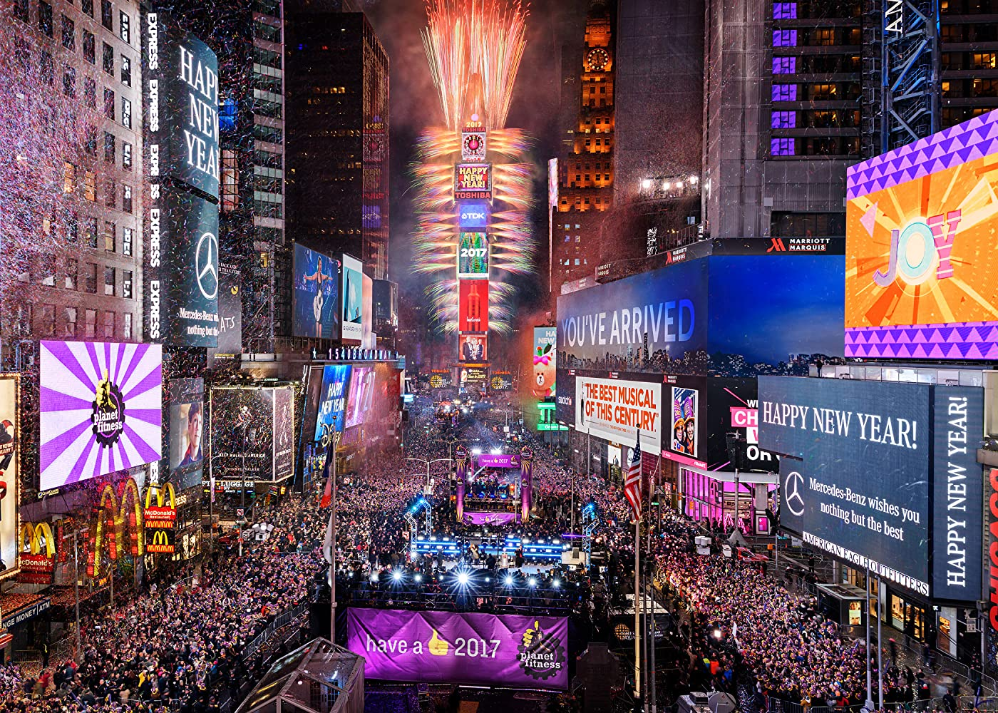 times square new years eve webcast 2017 2016