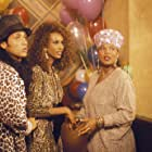 Queen Latifah and Iman in House Party 2 (1991)