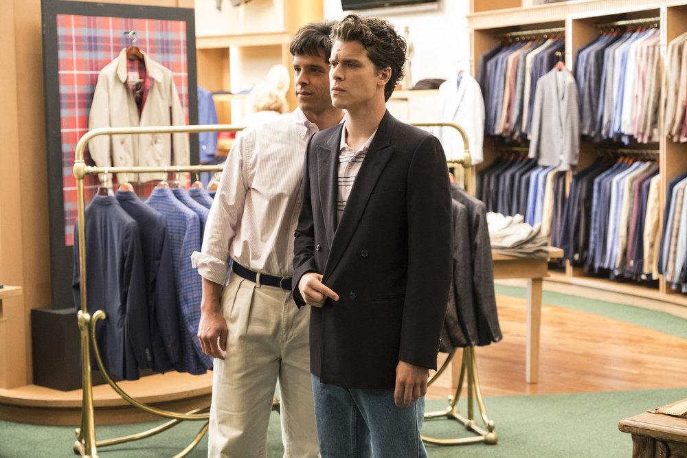 Miles Gaston Villanueva and Gus Halper in Law & Order True Crime (2017)