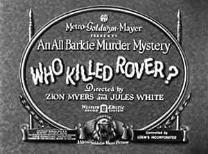 Jules White Who Killed Rover? Movie