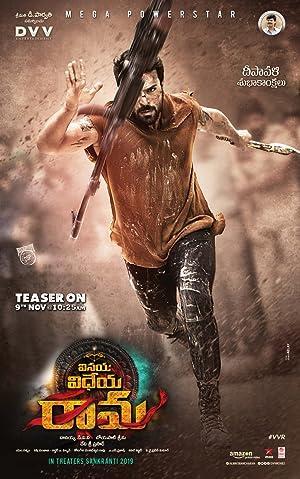 Vinaya Vidheya Rama 2019 HDRip Movie Poster